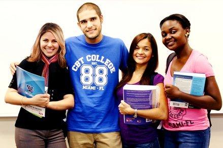 CBT College international students