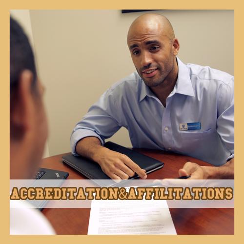 Accreditation & affilitations