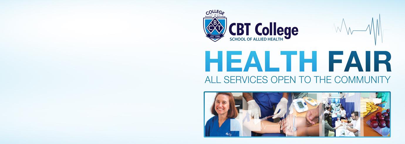 CBT College Health Fair